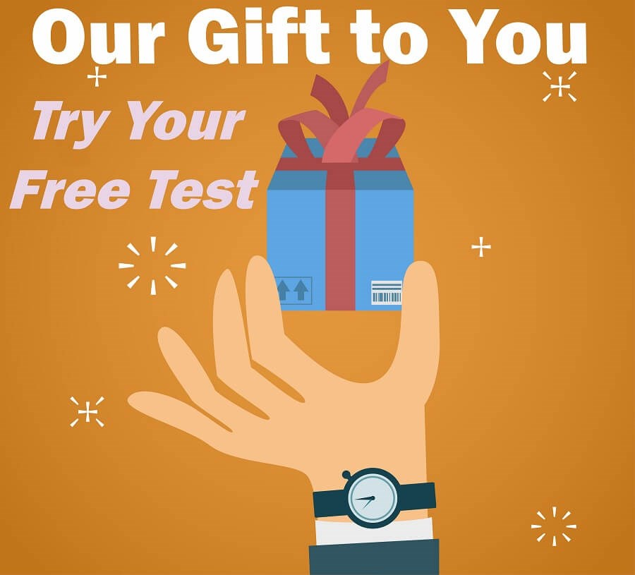 gift free sample test